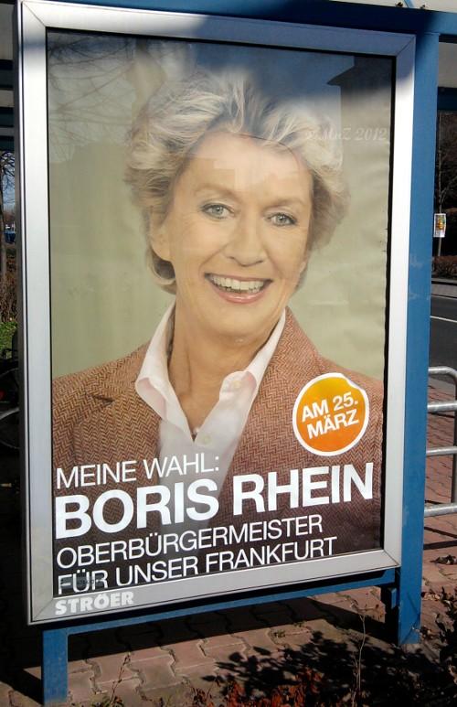 Boris Rhein - CDU - Stichwahl des Oberbürgermeisters von Frankfurt