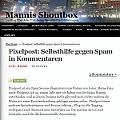 Bild: Pixelpost-Selbsthilfe-gegen-Spam-in-Kommentaren