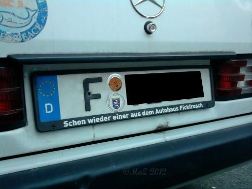 Mercedes aus dem Autohaus Fickfrosch