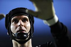 Petr Cech lebende Legende des FC Chelsea - Matchwinner des Spiels Barca vs Chelsea