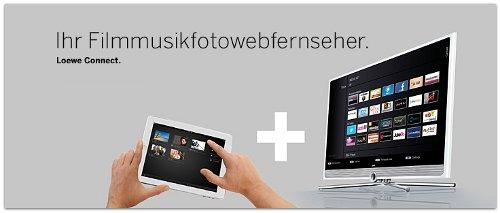 Loewe TV heute (Screenshot von Euronics.de)
