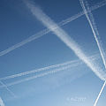 Bild: Fluglärm am Sonntagmorgen als Bilddokument statt einer Audiodatei.