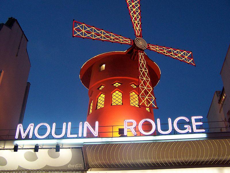 Moulin Rouge - Bild von Angela Ender