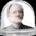 Bild: Assange überwintern inder ecuadorianischen Botschaft