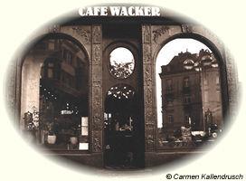Das Kaffee Wacker auf der Bergerstraße in Frankurt am Main Bornheim (Hier klicken um mehr über das Traditionshaus zu erfahren)