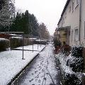 Bild: Positiv gedacht: Erster Schnee in Frankfurt ist nicht bei allen Menschen beliebt, bei mir schon.