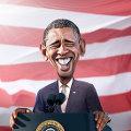 Bild: USA Obama und Biden - Schön ist es Präsident zu sein ...