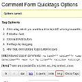 Bild: WordPress Kommentare mit mehr html-tags