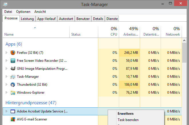 Browser Manager entfernen_06 - Draufklicken vergrößert