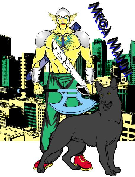 Superhelden online machen: Mega Manni