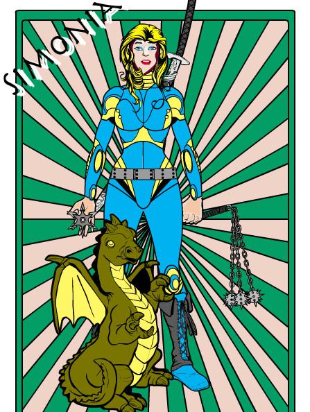 Superheldinnen online machen: Simonia