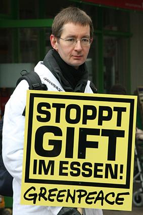 Gift im Essen - Greenpeace
