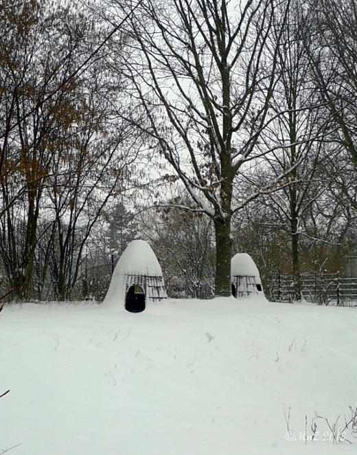 Positiv gedacht bei Schnee im März