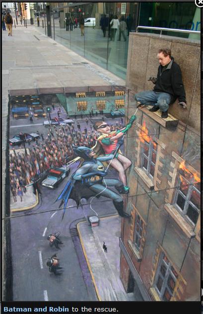Bild: Batman and Robin to the rescue von Julian Beaver
