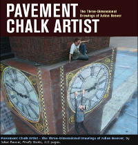 Bild: Das Buch Pavement chalk artist Julian Beever