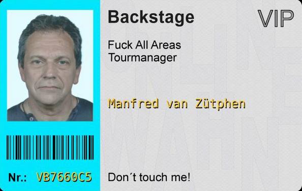 Bild: Backstage-Ausweis online bestellen