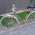 Bild: Das alte Bauer taugt nicht mehr zum Einkaufen mit dem Fahrrad