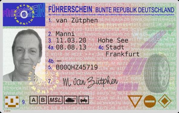 Bild: Du kannst nicht nur Ausweise online bestellen, auch ein Führerschein ist machbar.