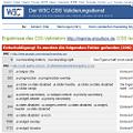 Bild: Screenshot vom CSS-Validator zum CSS von WordPress-Plugins-120