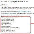Bild: Wordpress sendet ein Ping beim Aktualisieren