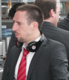 Bild: Ribery, der Fussballer Europas, will die Champions League noch mal gewinnen.