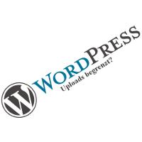 Bild: WordPress-Upload begrenzt