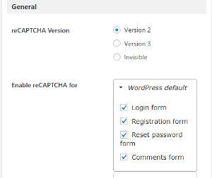 Bild: 12 Google ReCaptcha Settings ausfüllen