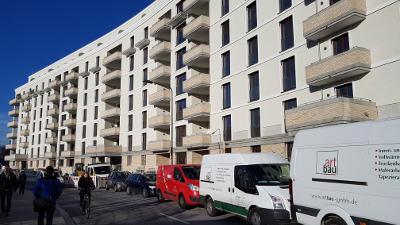 Bild: Frankfurts Ostend: Der Bauboom - Neue Wohnungen