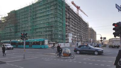 Bild: Frankfurts Osten: Der Bauboom (Rohbau)