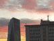 Bild: Mannis-Shoutbox Relaunch (Frankfurt Ostend Eurotower und altes Telekomhaus)