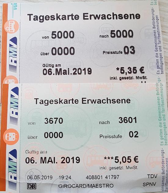 Bild: Mit dem RMV von Frankfurt nach Offenbach - Eine teure und umständliche Fahrt